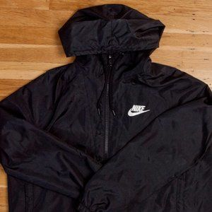 Nike Full Zip Hooded Track Jacket